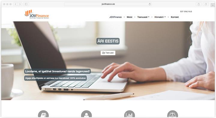 iweb jovfinance wordpress bootstrap